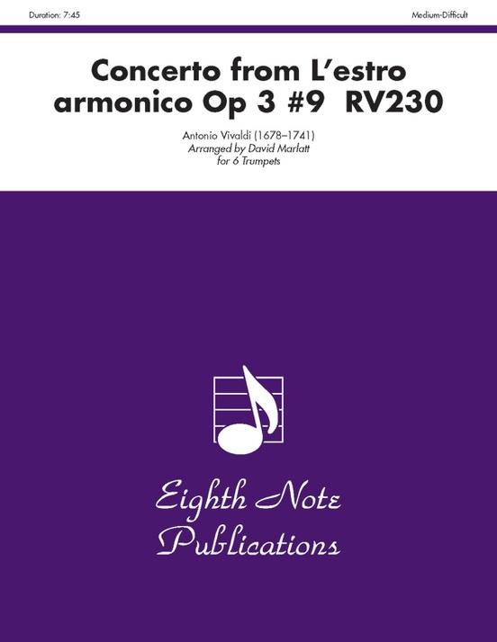 Concerto (from L'estro Armonico, Op 3 #9 RV230)