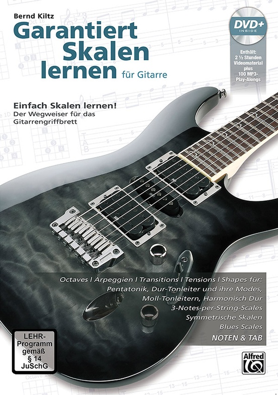 Garantiert Skalen Lernen für Gitarre [Guaranteed Learn Scales for Guitar]