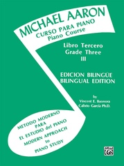 Michael Aaron Piano Course: Spanish & English Edition (Curso Para Piano), Book 3