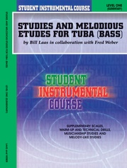 Student Instrumental Course: Studies and Melodious Etudes for Tuba, Level I