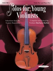 Solos for Young Violinists Violin Part and Piano Acc., Volume 1