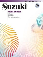 Suzuki Viola School, Volume 5