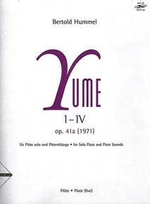 Yume I-IV, Opus 41a (1971)