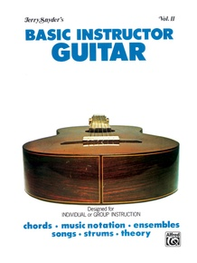 Basic Instructor Guitar, Volume II (Student Edition)
