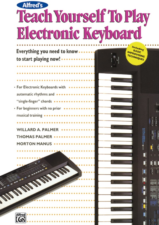 Alfreds Teach Yourself To Play Electronic Keyboard Electronic