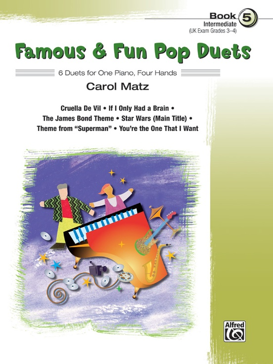 Famous & Fun Pop Duets, Book 5
