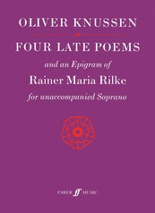 Four Late Poems and an Epigram