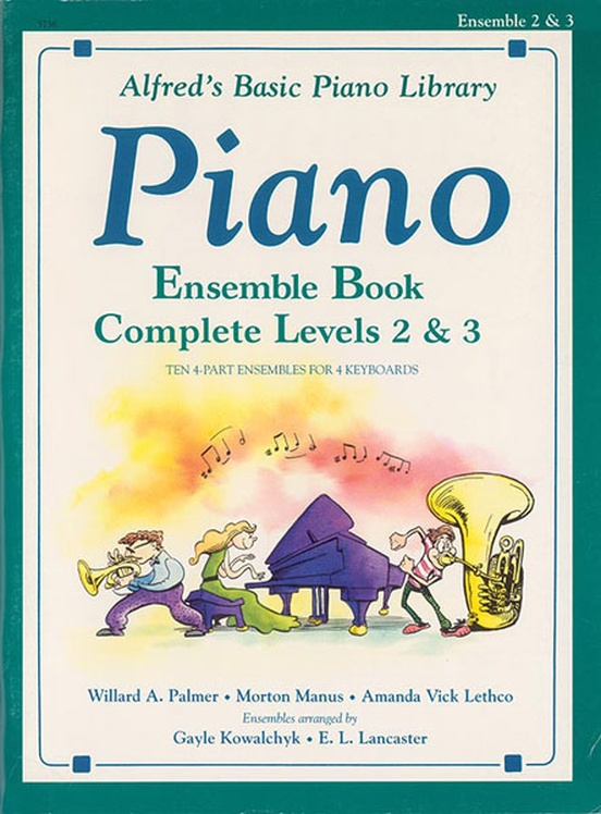 Alfred's Basic Piano Library: Ensemble Book Complete 2 & 3