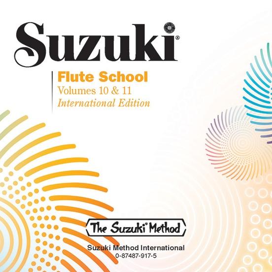 Suzuki Flute School CD, Volume 10 & 11 (Revised)