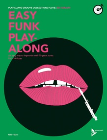 Easy Funk Play-Along: Flute