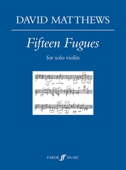 Fifteen Fugues for Solo Violin