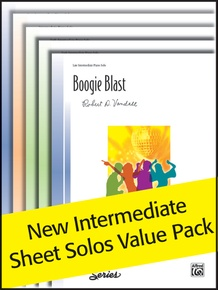 New Intermediate Original Sheet Solos 2008 (Value Pack)
