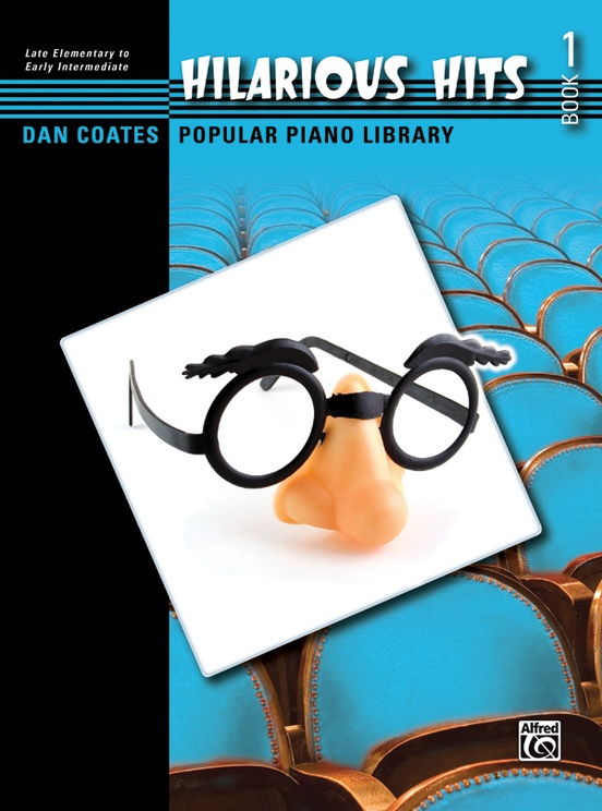 Dan Coates Popular Piano Library: Hilarious Hits, Book 1