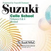 Suzuki Cello School, Volumes 3 & 4