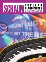 John W. Schaum Popular Piano Pieces, C: The Purple Book