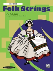 Folk Strings for Solo Instruments