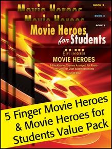 Movie Heroes 1-3 & 5-Finger (Value Pack)