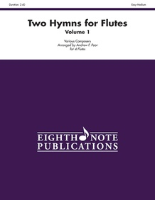 Two Hymns for Flutes, Volume 1