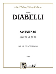 Sonatinas, Opus 24, 54, 58, 60