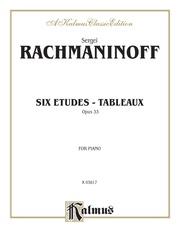 Etudes Tableaux, Opus 33