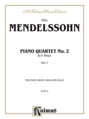 Piano Quartets No. 2 in F Minor, Opus 2