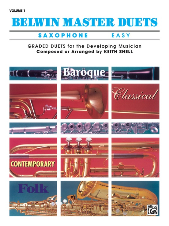 Belwin Master Duets (Saxophone), Easy Volume 1