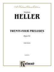 Twenty-Four Preludes, Opus 81