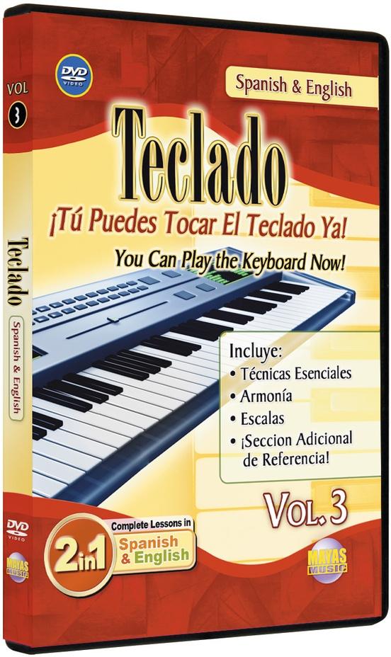 2 in 1 Bilingual: Teclado Vol. 3