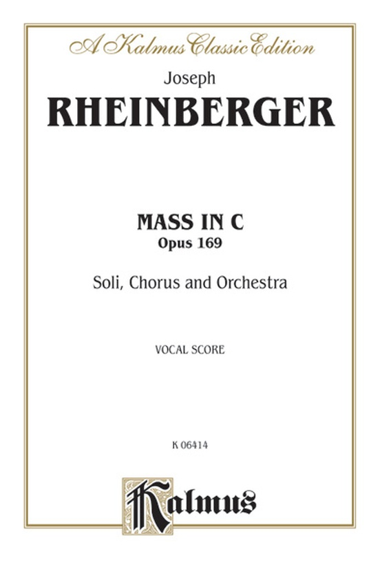 Mass in C, Opus 169