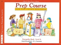 Alfred's Basic Piano Prep Course: Notespeller Book A