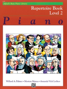 Alfred's Basic Piano Library: Repertoire Book 2