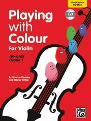 Playing with Colour for Violin, Book 3