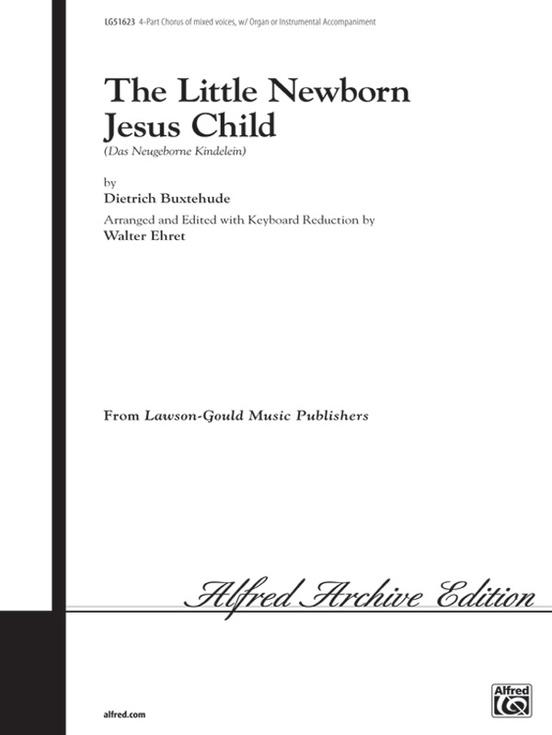 The Little Newborn Jesus Child