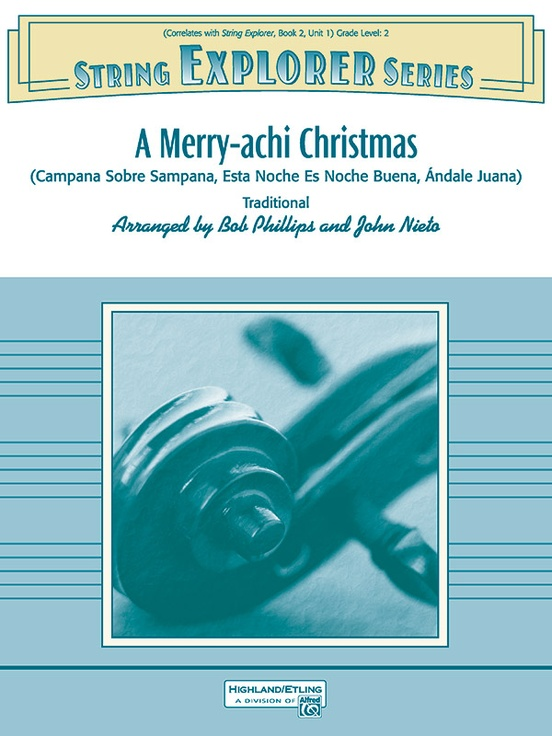 Merry Achi Christmas 2020 A Merry achi Christmas: String Orchestra Conductor Score & Parts