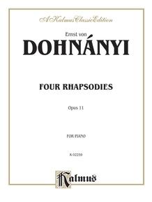 4 Rhapsodies, Opus 11