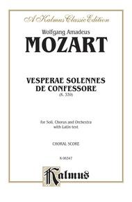 Vesperae Solennes de Confessore (K. 339)