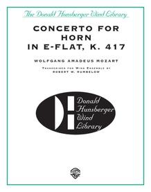 Concerto for Horn in E-flat, K. 417
