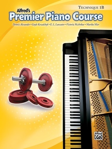 Premier Piano Course, Technique 1B