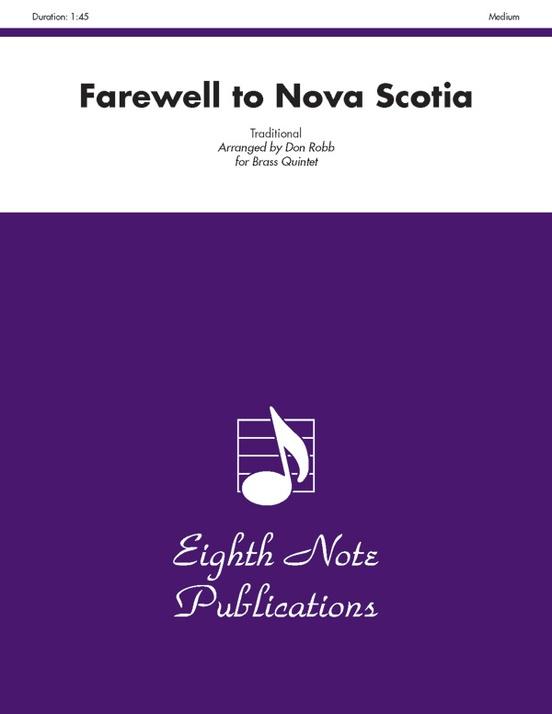 Farewell to Nova Scotia