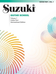 Suzuki Guitar School Guitar Part, Volume 7