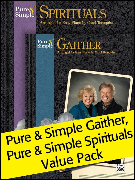 Pure & Simple Spirituals/Gaithers (Value Pack)