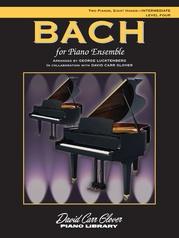 Bach for Piano Ensemble, Level 4
