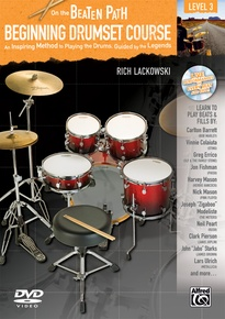 On the Beaten Path: Beginning Drumset Course, Level 3
