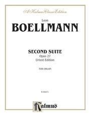 Second Suite, Opus 27 (Urtext Edition)