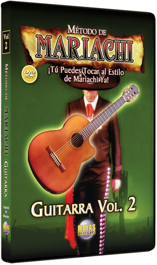 Método de Mariachi: Guitarra Acústica Vol. 2