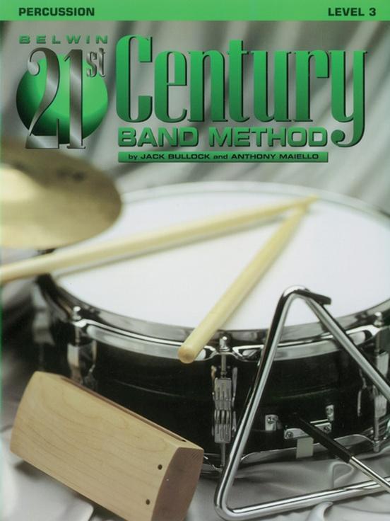Belwin 21st Century Band Method, Level 3