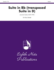 Suite in B-flat (transposed Suite in D)