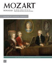 Mozart, Sonatas for One Piano, Four Hands
