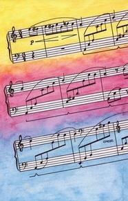 Schaum Recital Programs (Blank) #27: Musical Staffs