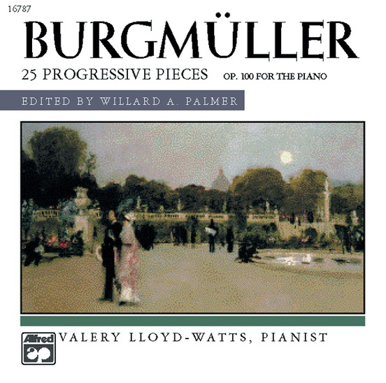 Burgmüller: 25 Progressive Pieces, Opus 100